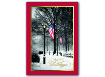 Silent Salute Patriotic Holiday Cards