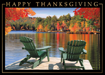 Lake View Thanksgiving Cards