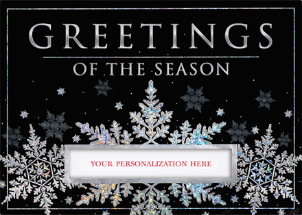 Snowflake Delight Holiday Cards